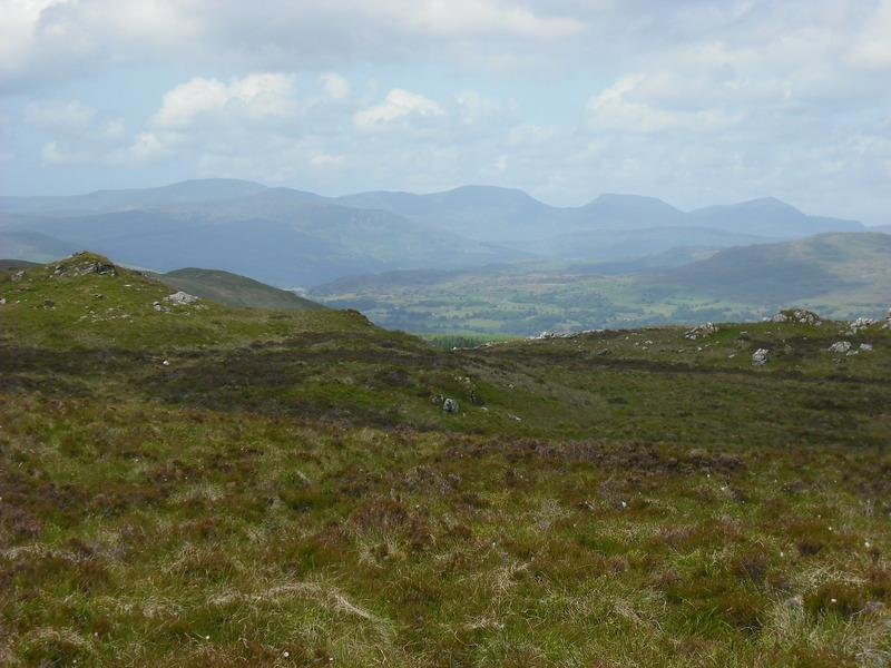 View of the Rhinogs