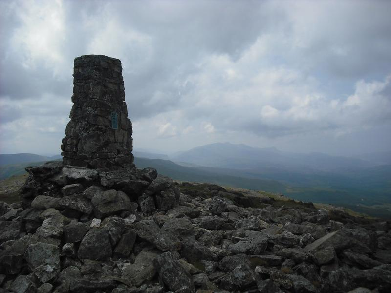 Cadair Idris from the summit of Aran Fawddwy