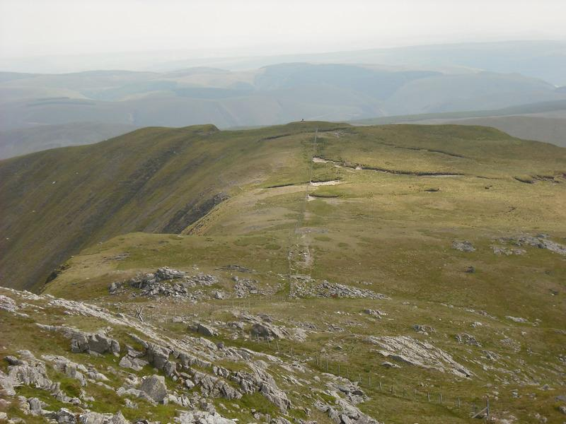 Creiglyn Dyfi from summit of Aran Fawddwy