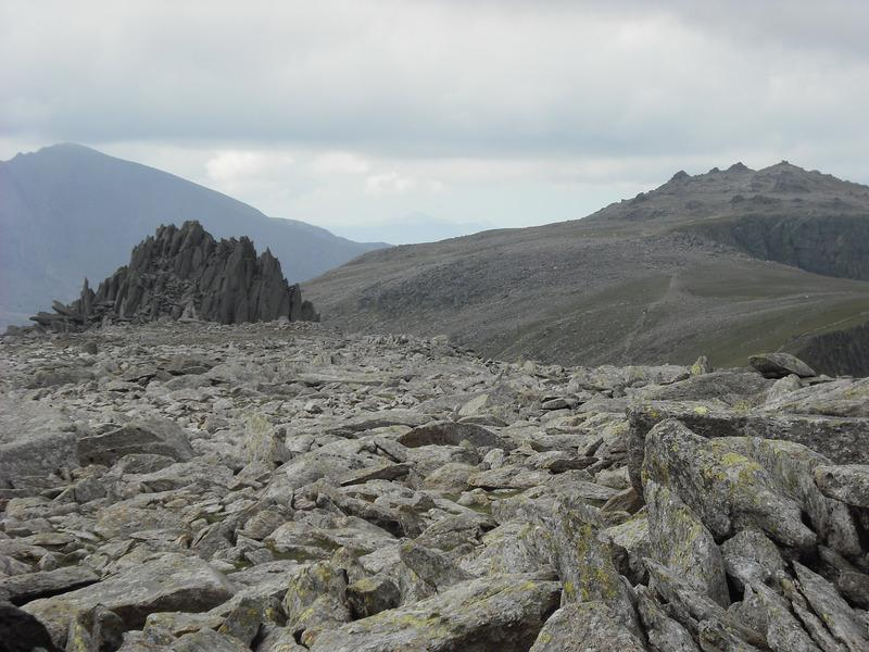 Snowdon, Glyder Fawr and the Castle of the Winds