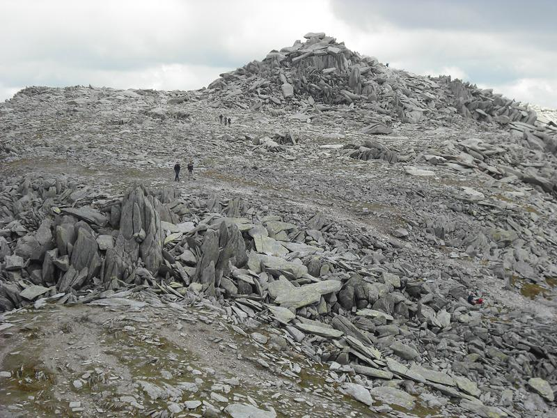 Summit of Glyder Fach from Castle of the Winds