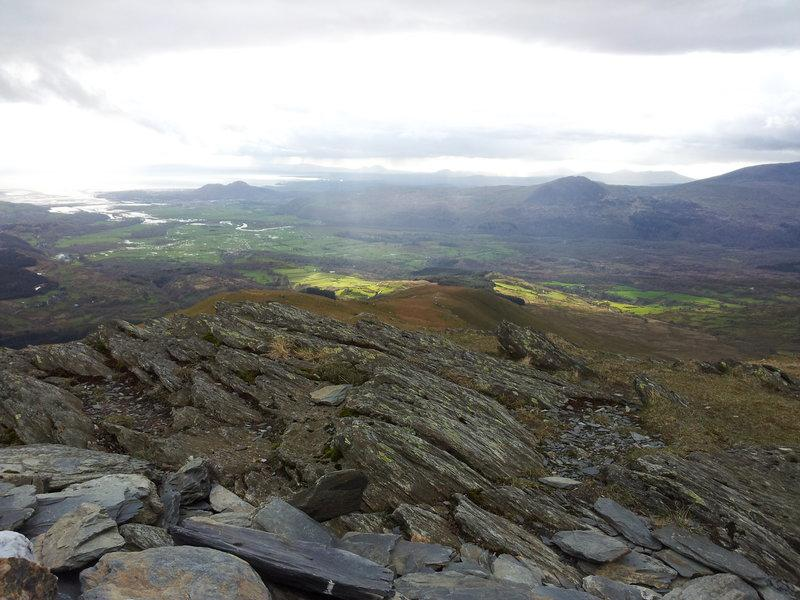 Tremadoc Bay from Moelwyn Mawr