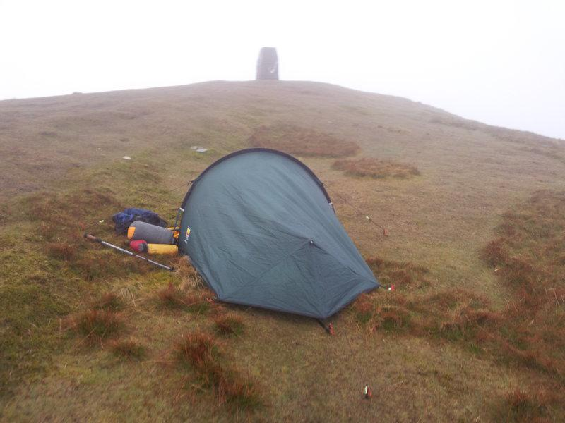 Summit Camp Moelwyn Bach