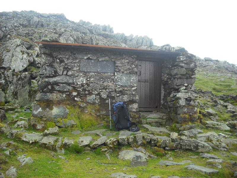 Refuge on Foel Grach