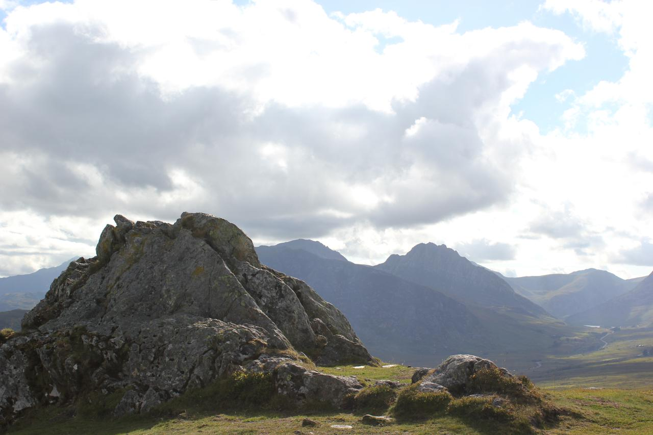 Tryfan and Bristly Ridge from Crimpiau
